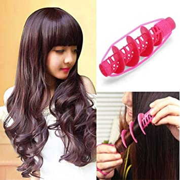 Curling Irons Fine 2pcs Hair Styling Tools Hair Care Natural Big Wave Curls Rollers Curlers Curling Styling Tool Various Styles