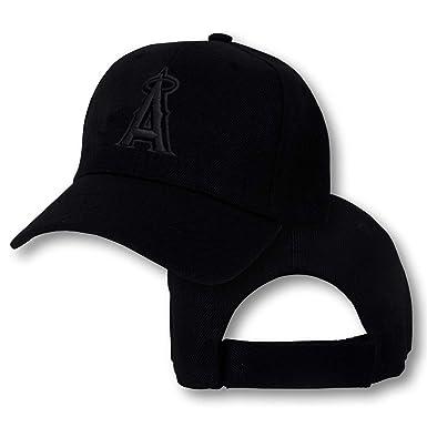 Amazon.com  SINXE Los Angeles Angels Cap Hat of Anaheim Embroidered LA  Adjustable Curved Snapback Baseball Cap Men Women  Clothing 5579315eb50