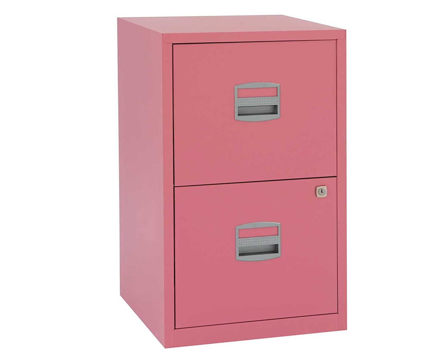 Bisley - Archivador de 2 cajones (Metal, A4), Color Rosa: Amazon.es: Hogar