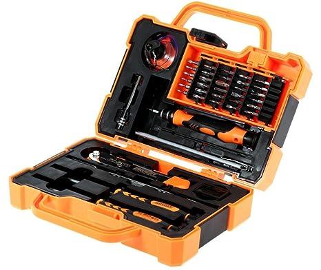 HYCy Herramienta De Reparación De Desmontaje Juego De Destornilladores De Precisión Multi bits con Pinzas Adecuado