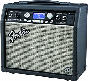 fender g dec 3 fifteen electric guitar combo amplifier musical instruments. Black Bedroom Furniture Sets. Home Design Ideas