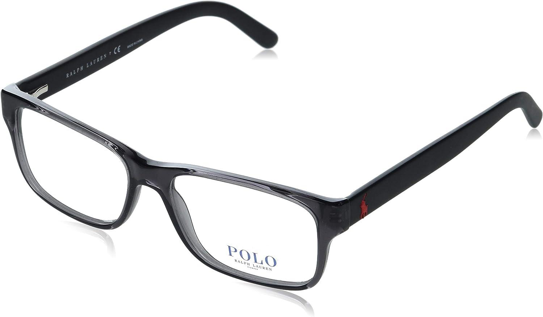 Polo Ralph Lauren Men's Ph2117 Rectangular Prescription Eyewear Frames