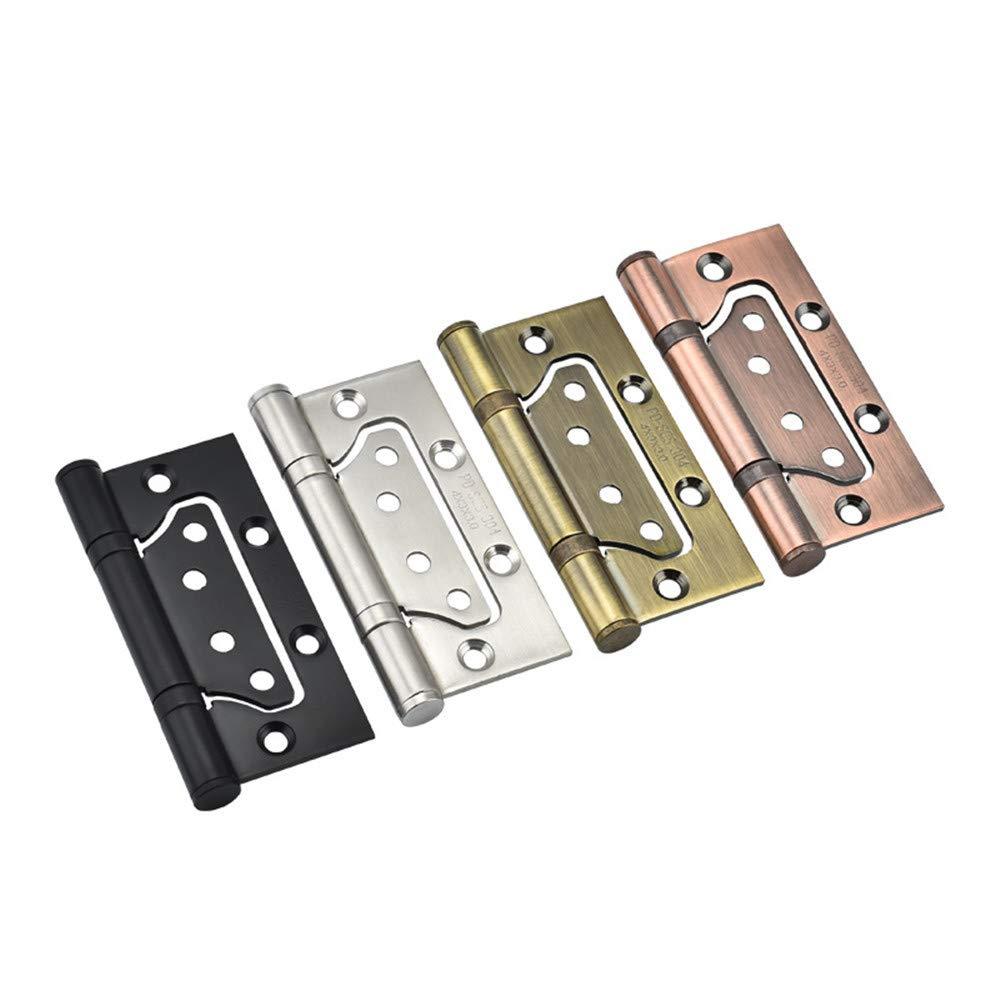 Artensky in acciaio inox 10,2 cm 2 cerniere per ante di armadietti senza scanalature cuscinetti silenziosi