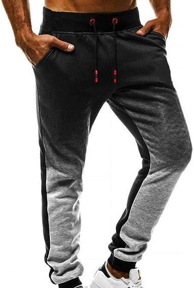 JiaMeng Sweat Pants Pantalones para Hombre Sport Jogging Fitness ...