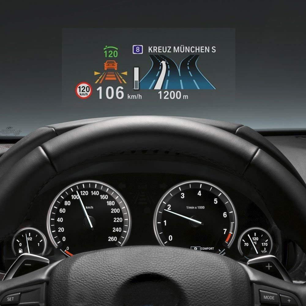 WONFAST Universal Premium HD Head Up Display (HUD) Reflective Screen Film (Single)