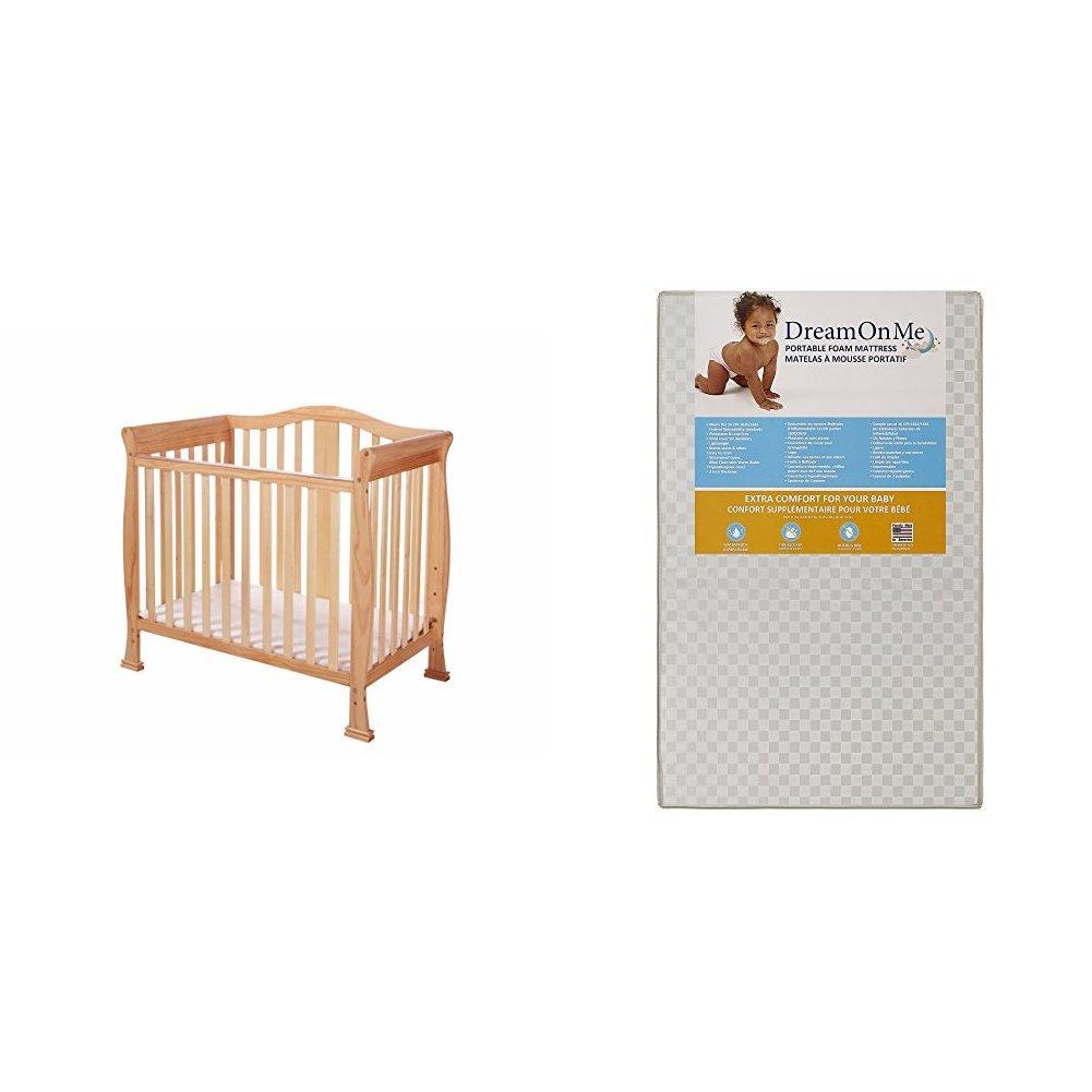 "Spring Coil Mini Portable Crib Mattress Baby Hypoallergenic Anti-bacterial 3/"""