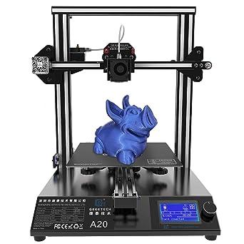 GEEETECH A20 Impresora 3D con base de construcción integrada ...