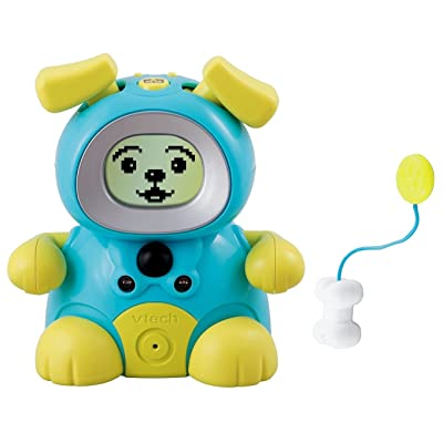 VTech Kidiminiz KidiDog Interactive Pet Dog - Aqua Puppy: Toys & Games