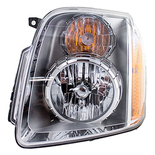 Drivers Headlight Headlamp Replacement for GMC Yukon Denali & XL Denali 20969896 AutoAndArt