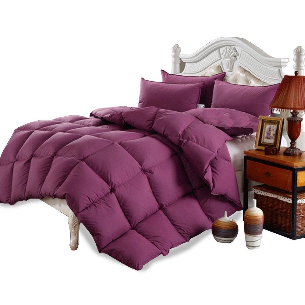 Duvet Insert Goose Down Comforter Queen Size