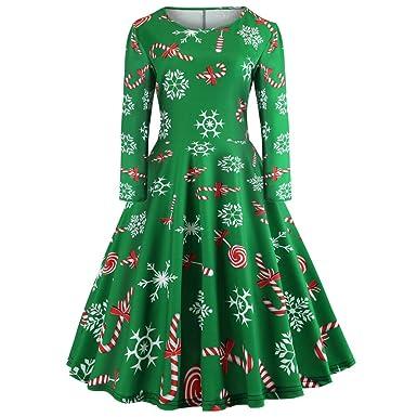 d5723a5fb Pingtr Christmas Dress Women