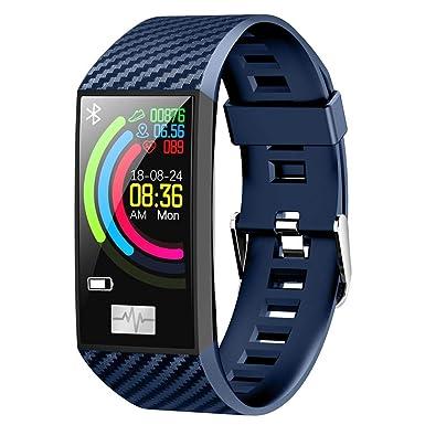 Berimaterry Pulsera Actividad Pulsera Actividad Inteligente Pantalla Color Reloj con Impermeable Podómetro Pulsera Deportiva Reloj para