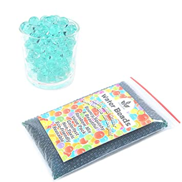 Amazon.com: AINOLWAY perlas de agua, tamaño original de gel ...