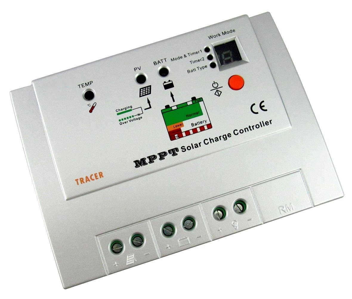 Mppt Tracer1210rn Solar Charge Controller Regulator 12 Wiring Schematic Also Circuit 24v Input 10a Renewable Energy Controllers Garden Outdoor