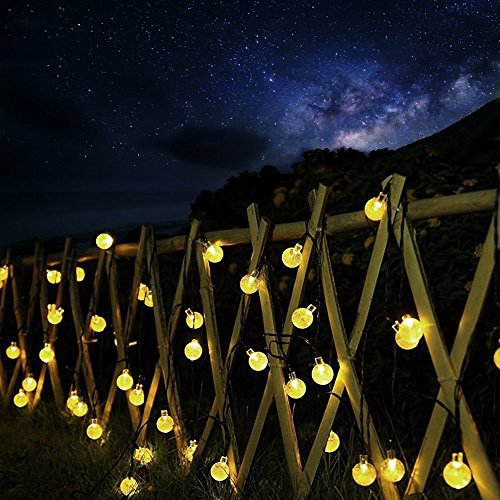 Декорация Solar String lights,CMYK LEDs