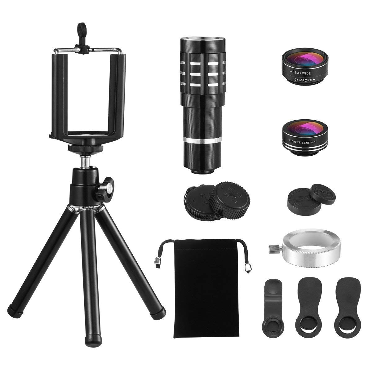 AMIR US-CP52 Lens kit Holder/Mount-Silver Longjun Wu