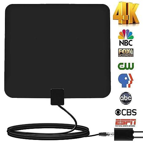 Review 60+Miles Indoor Amplified TV