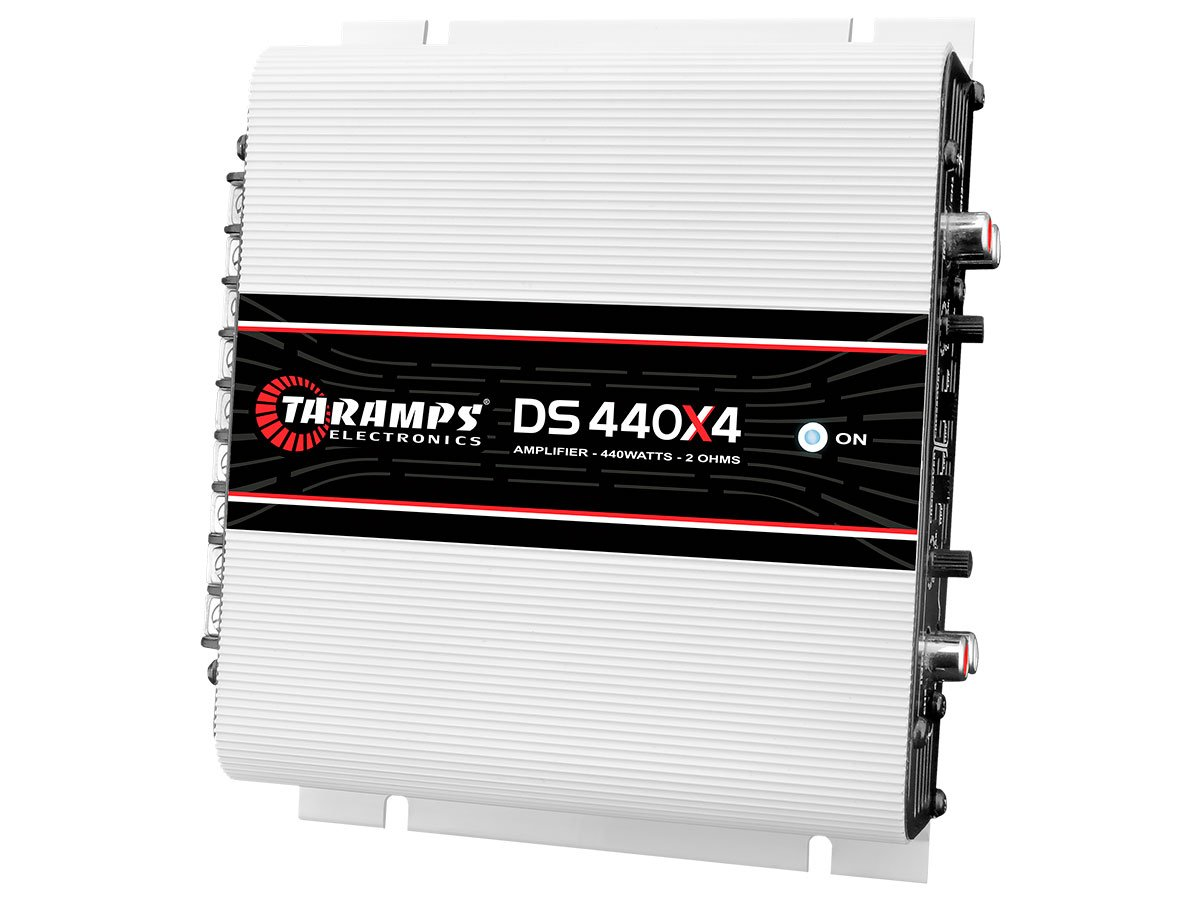 TARAMPS 4CH Class D 110WTS X 4 2 Ohm Stable DS440X4
