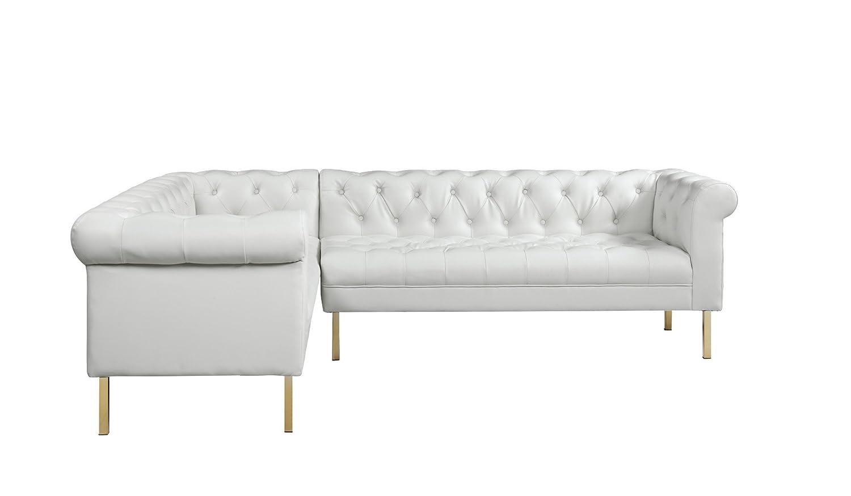 Amazon.com: Iconic Home Giovanni sofá seccional con ...