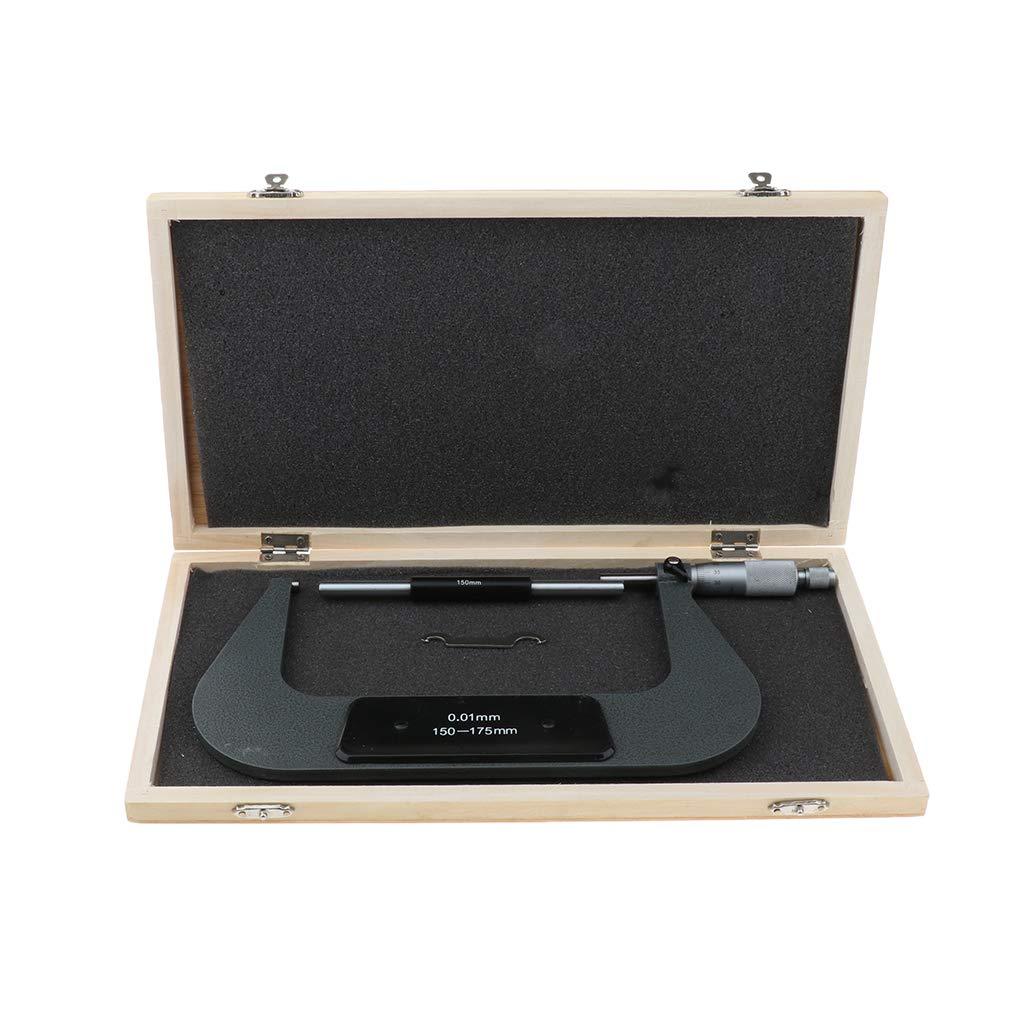 100-125mm Micr/ómetro Exterior Accesorios Juego de Micr/ómetros Exteriores Precisos