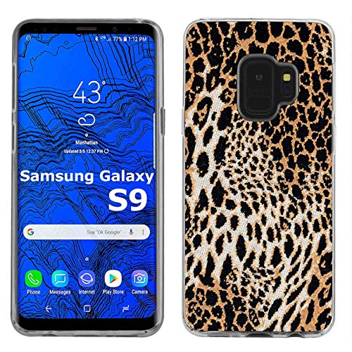 - Samsung Galaxy S9 Case [TalkingCase] Premium Thin Gel TPU Phone Cover Samsung Galaxy S9 [Leopard Print] Design