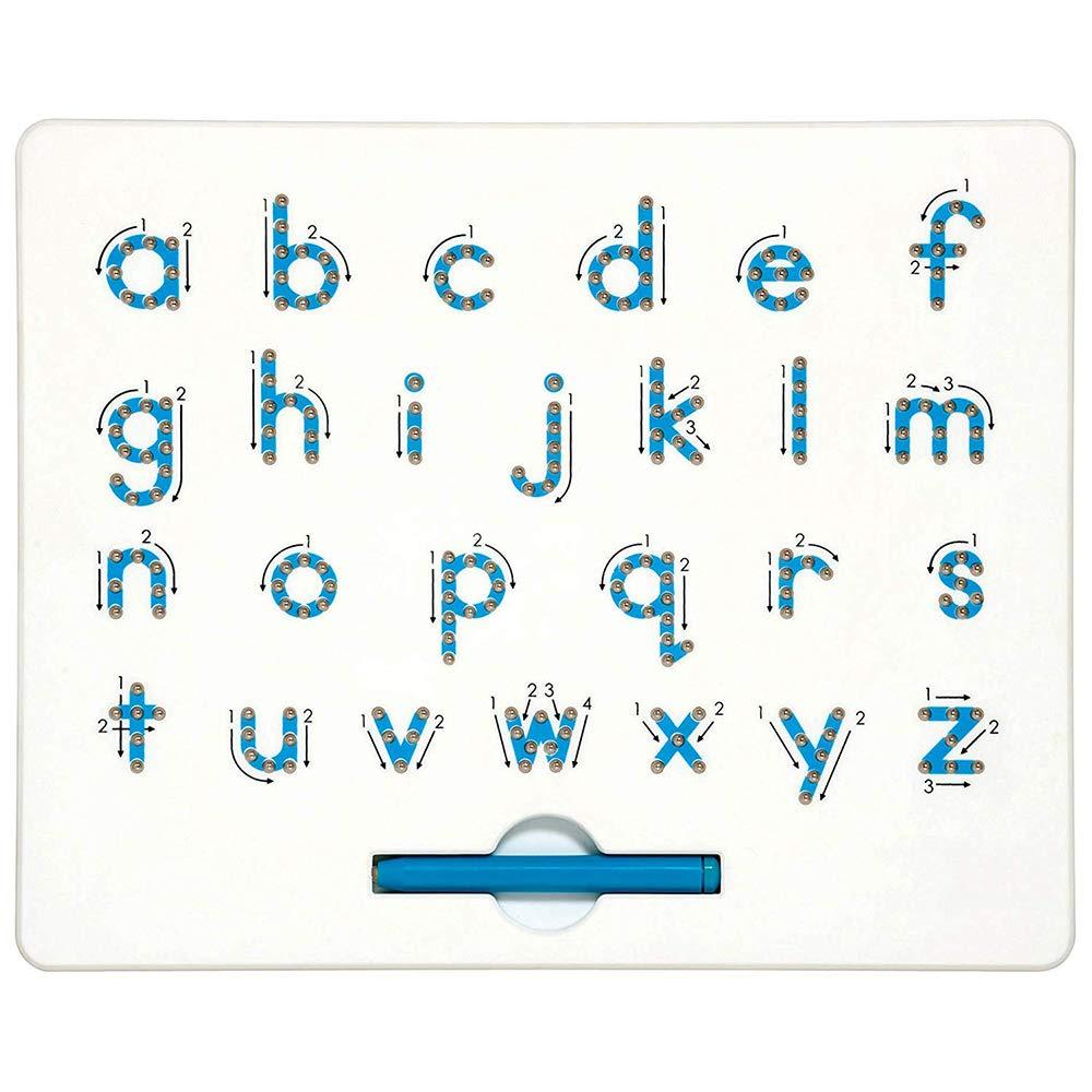 Cretee Free Play Magnet Tablet pour Enfants Jouet Educatif Magnétique Boules Planche À Dessin