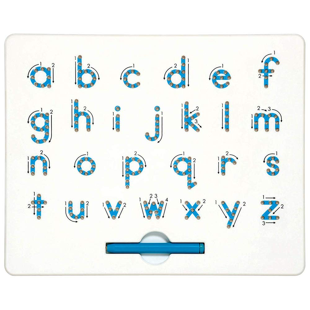 Cretee a to z Lower Case Letters Magnet Board for Kids Educational Toy Magnetic Balls Tablet