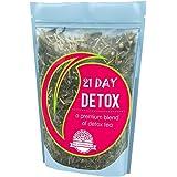 21 Day Teatox | Detox Tea with 42 Tea Bags | (Laxative FREE) | Action Plan E-Book