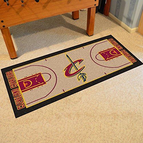 FANMATS NBA Cleveland Cavaliers Nylon Face NBA Court Runner-Small - Court Runner Carpet