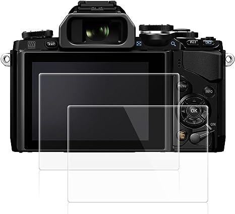 6x protector de pantalla para olympus e-450 claramente recubrimiento protector protector de pantalla