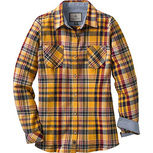 Legendary Whitetails Ladies Cottage Escape Flannels Autumn Leaf Plaid XX-Large