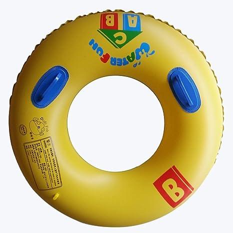 Gimitunus Barco de natación, Asiento Inflable del Flotador de la Piscina del Anillo de la natación del PVC para los niños Adultos: Amazon.es: Deportes y ...