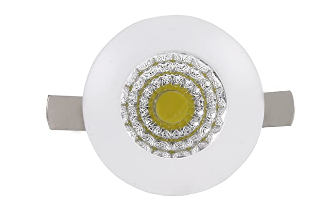 buy elektra 1w led spot light 1w round white online at low prices in