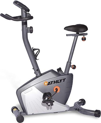 Athlyt - Bicicleta estática electrónica, gris: Amazon.es: Deportes ...