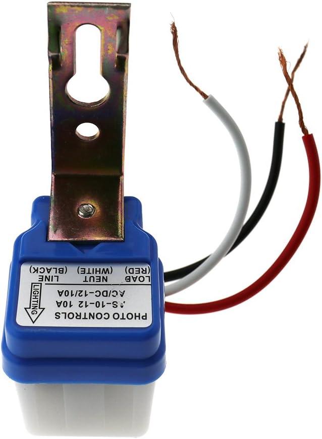 Dämmerungsschalter AC 220V 10A Dämmerungssensor Lichtsensor twilight switch