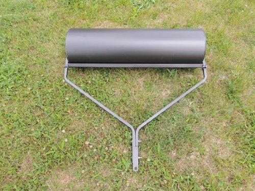 Gartenwalze 102 cm schwarz Rasenwalze Walze