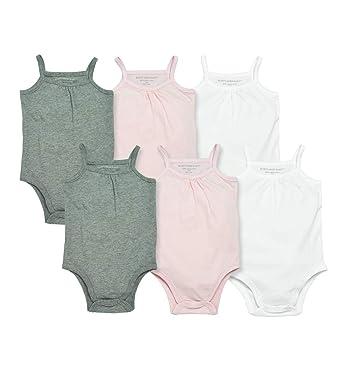 5e72e3ecb Burt's Bees Baby Baby Girls' Bodysuits, Camisole Sleeveless Tank Top  One-Pieces,