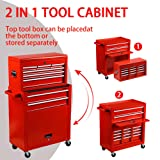 Rolling Tools Chest with Drawers Tools Storage