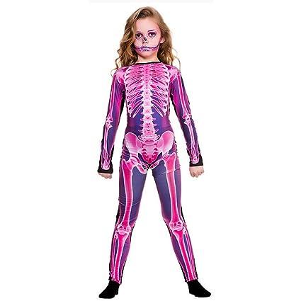 Wicked Costumes Disfraz de Mono Esqueleto Rosa para Rayos X ...