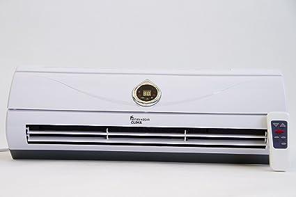 Deluxe Calefactor Split/Ventilador de Pared | 1000W y 2000W Oscilante