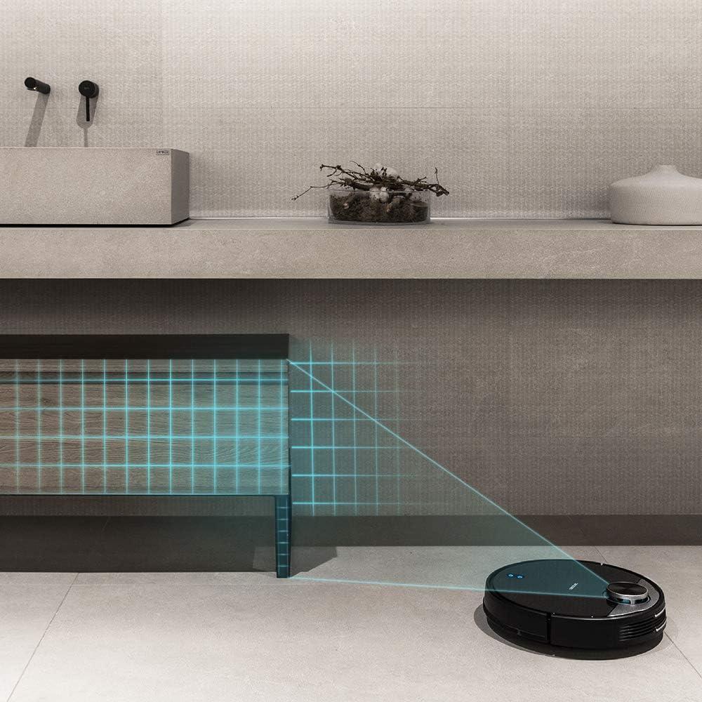 Cecotec Robot Aspirador Conga 3790. Tecnología láser, Room Plan ...