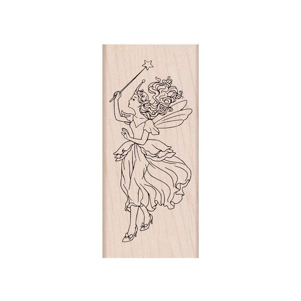 Hero Arts F6276 Woodblock Stamps Rose Heart