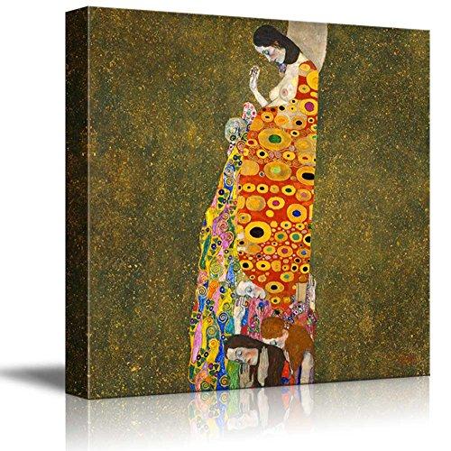 Hope II by Gustav Klimt Austrian Symbolist Painter Golden Phase