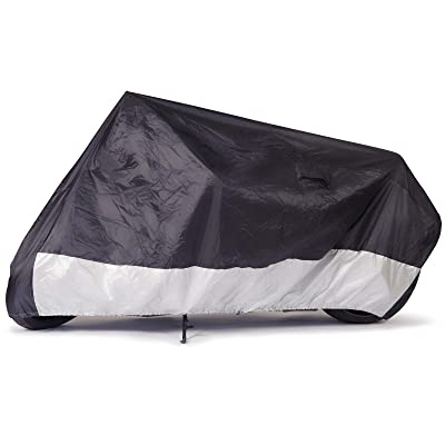 "Budge Sportsman Motorcycle Cover, Black, Waterproof, Universal Fit, Fits up to 96"": Automotive"