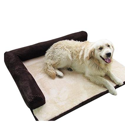 Pana cálido perro guardián desmontable oso de peluche cojín suave sofá cama cojín del animal doméstico