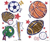 Brewster ST99814 Crayola Sports Wall Stickers