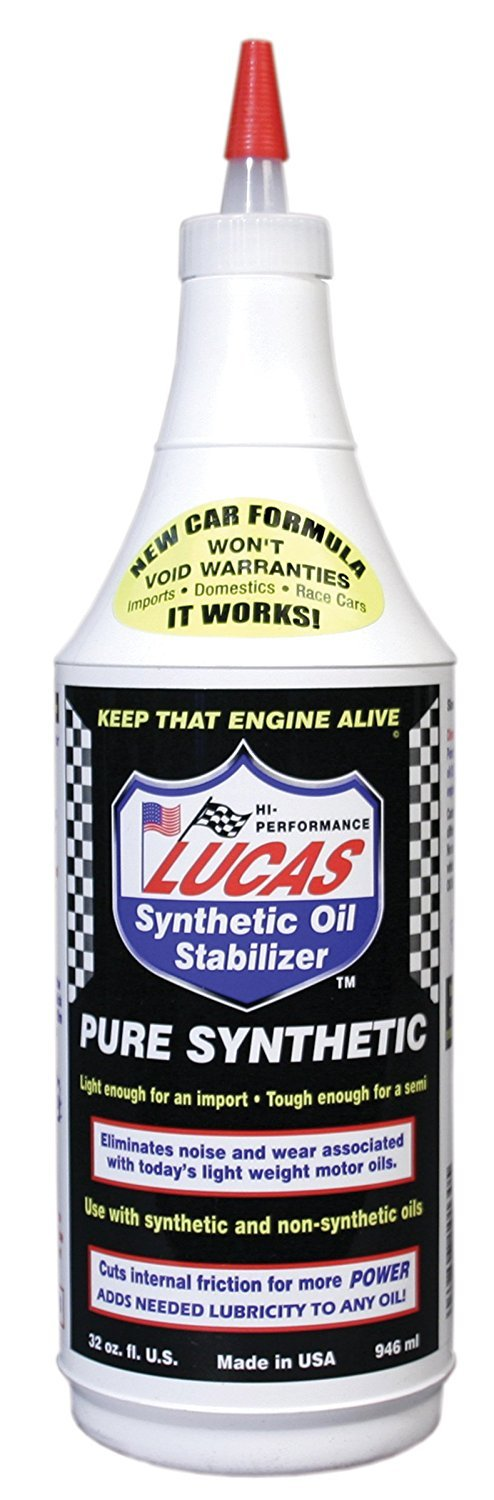 Lucas 10130 Synthetic Oil Stabilizer. Quart (Quantity 6)