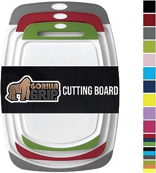 Amazon.com: tabla de cortar y servidor de queso, Gorilla ...