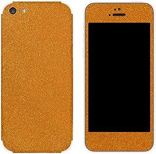 product image for Slickwraps Glitter Collection Protective Film for iPhone 5c - Aurora Orange - Skin - Retail Packaging - Aurora Orange