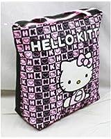 Tote Bag - Hello Kitty - Black Box Checker New Gifts Girls Hand Purse 82352